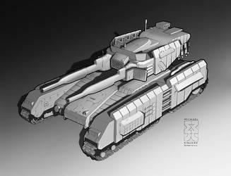 Spearpoint: Parthian Tank by Legato895