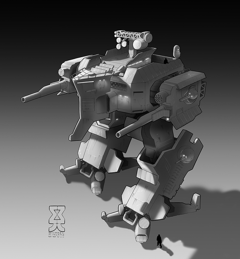 Spearpoint: Parthian Mech by Legato895