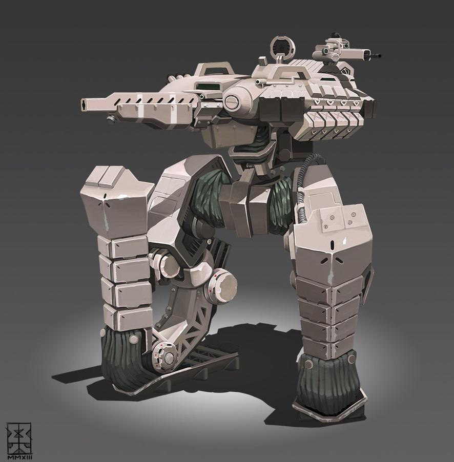 Tank Mech by Legato895