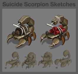 BB - Suicide Scorpian by Legato895