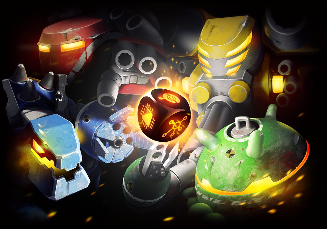 Bots Battleground - Promotional Illustration by Legato895