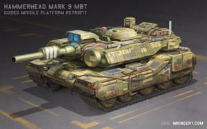 Hammerhead Mk 9 - MBT Missile Platform by Legato895