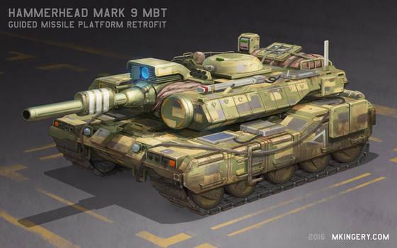 Hammerhead Mk 9 - MBT Missile Platform
