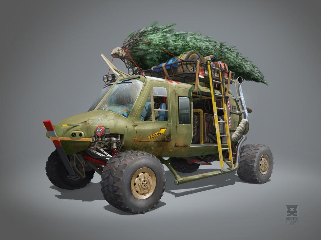 Huey Truck RC2 by Legato895