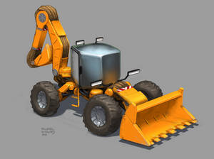 Sketchwars - Backhoe Loader