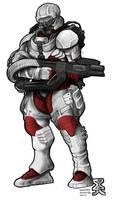 Suppression Soldier