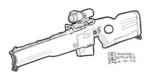 Res-wR GSF Rail Rifle by Legato895