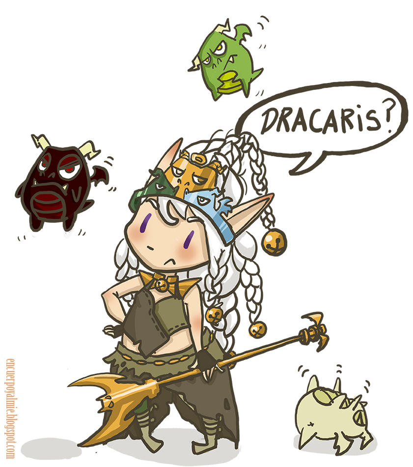 Lulu Mother Of Dragons by Anima-en-Fuga