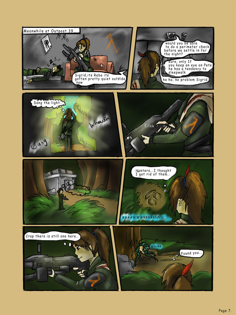 The Huntress Page 7 by xenomorphfury161