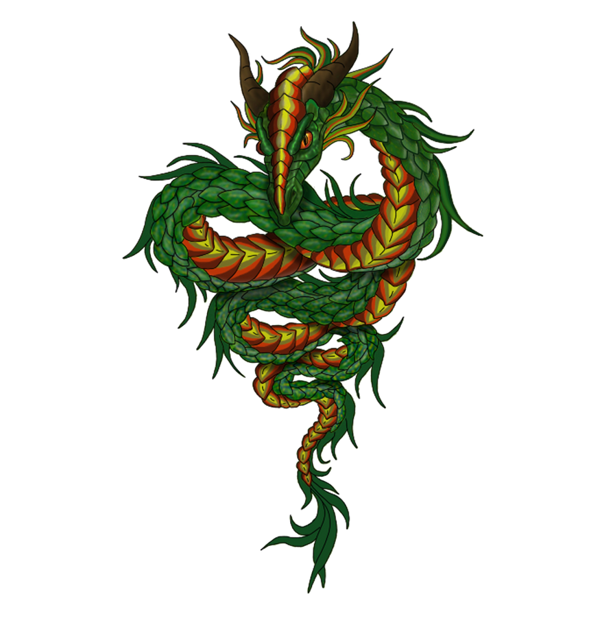 Green Dragon Snake Dra...