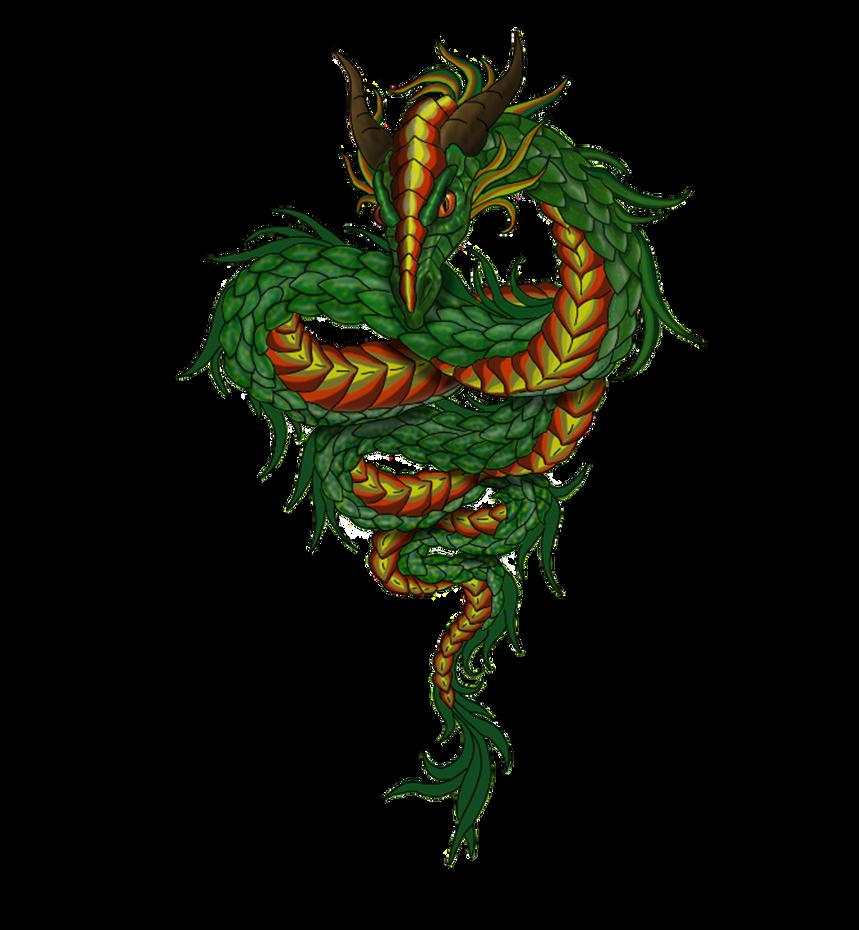 Green Dragon Snake Images
