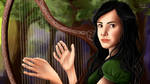 DEENA - Kingkiller chronicle fanart by Cintitacinti