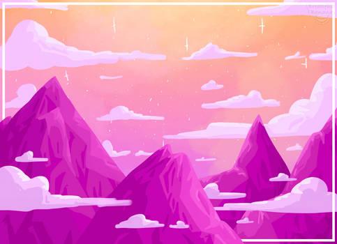 Rosy skys