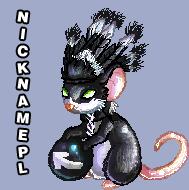 Nickname avatar by SheriBonBon