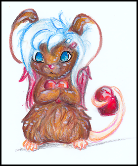 Polish mouse by SheriBonBon