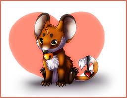 Loving mouse by SheriBonBon