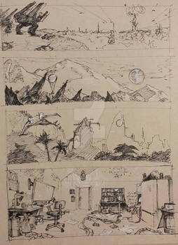 Wide Screen Sketches