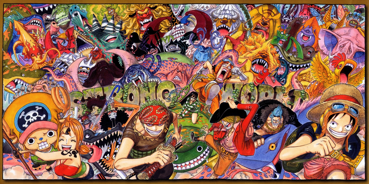 Poster from one piece strong world by claudia cher on deviantart - Poster one piece pas cher ...