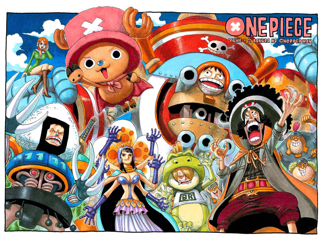 Color Spread in Chapter 405 by Claudia-Cher