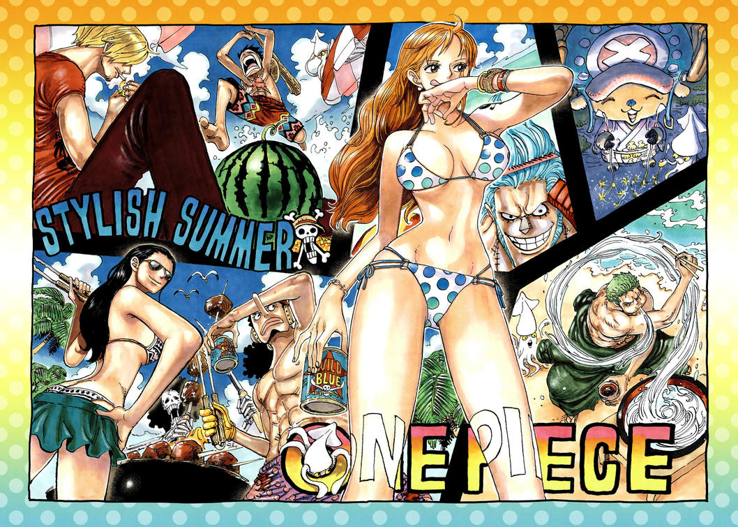Color Spread in Chapter 916 by Claudia-Cher
