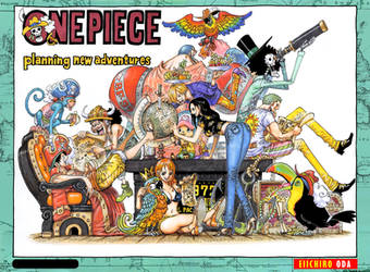 Color Spread in Chapter 937 by Claudia-Cher