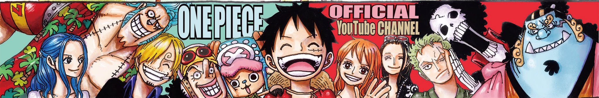 Banner from One Piece Official YouTube Channel by Claudia-Cher