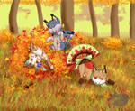 Fall Fun with Foxfans