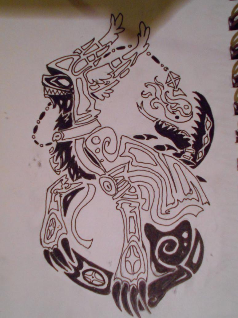 Zade Tribal by PoisonDemonSaskia