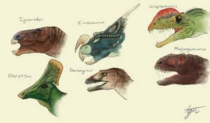 Dinosaur Skull Restoration Study - Part 1