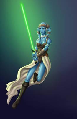Twi'lek Jedi (star wars fanart)