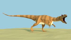 Allosaurus Low Poly 1