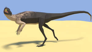 Eoraptor in Low Poly
