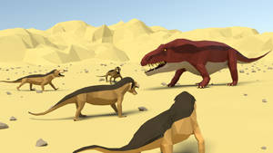 Early Triassic Battle in The Karoo.