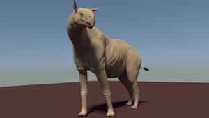 Paraceratherium in 3d