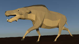 Daedon in Low Poly