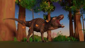 Saurian superstar: Low Poly T-Rex update