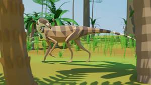 LowPolySilesaurus
