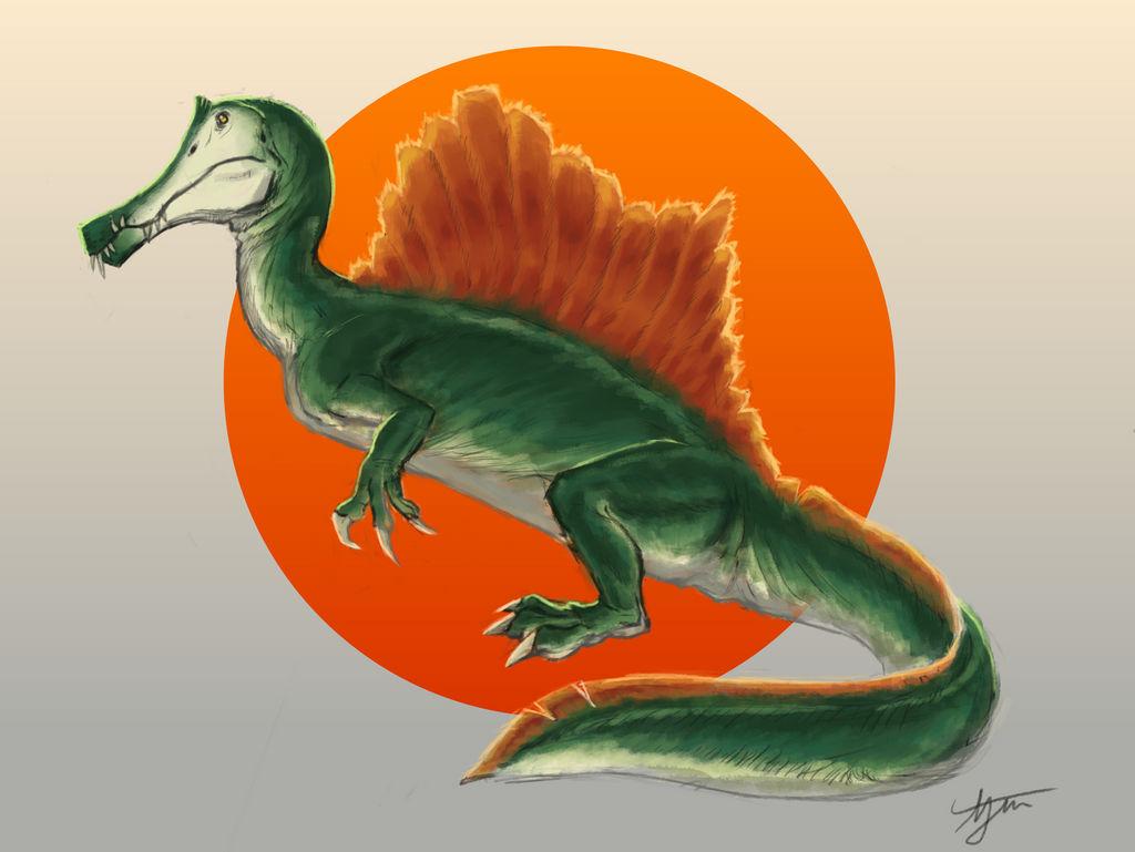 Cartoon Spinosaurus 2020