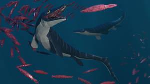 Phosphorosaurus In Low Poly