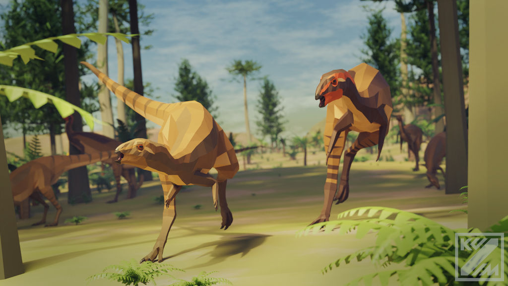Dryosaurus/Dysalotosaurus? in Low Poly