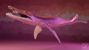 PRIDE-O-SAURS Lesbian Liopleurodon