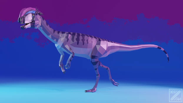 Pride-o-saurs Bisexual Dilophosaurus