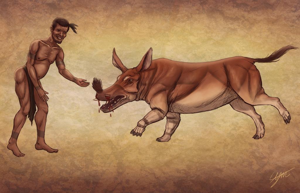 The Rain Bull and the Shaman