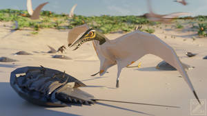 LowPolyRhamphorhynchus