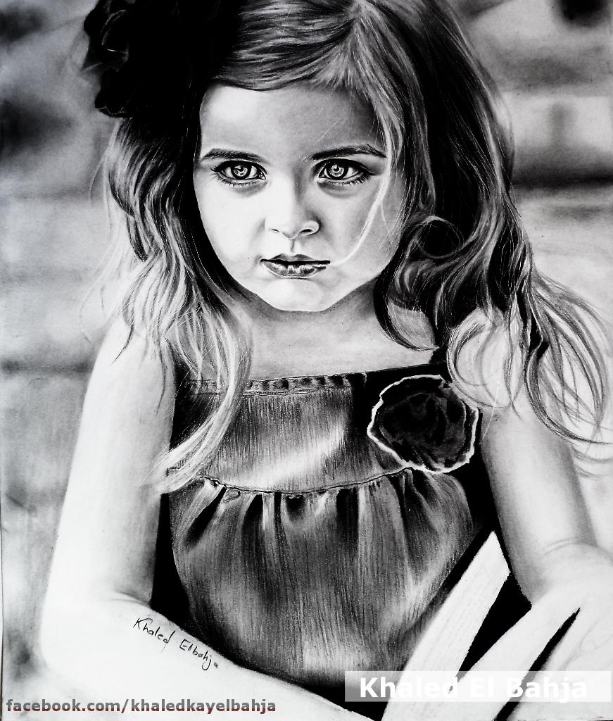 Innocent girl by Art-SKF
