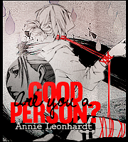 Are you a good person? by umiko123