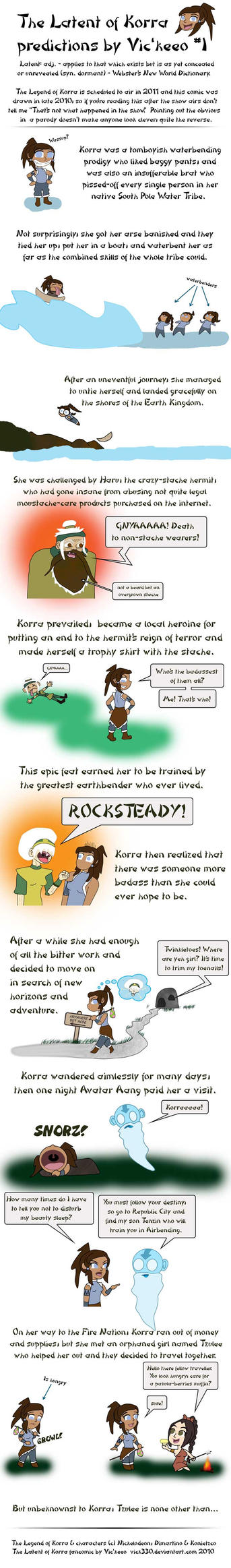The Latent of Korra 1 by vick330