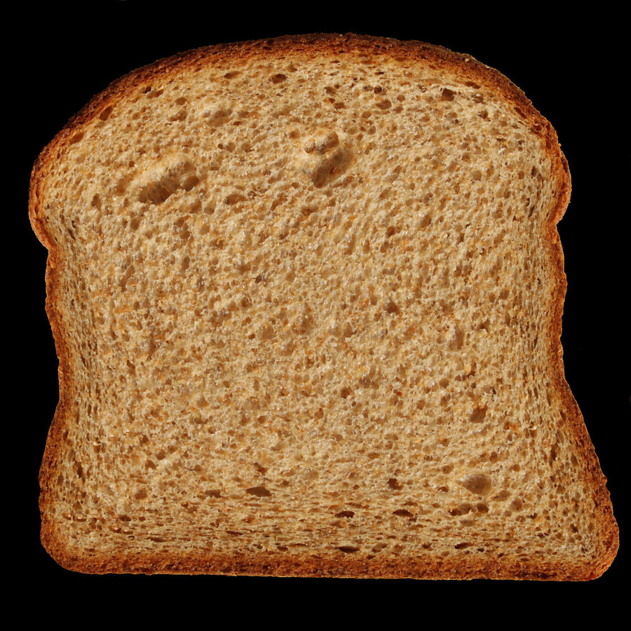 Slice bread texture