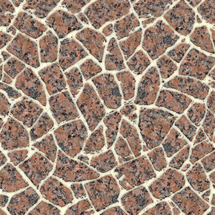 Seamless Marble Chips Texture