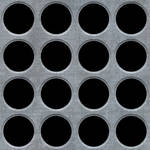 Seamless Metal Holes Texture